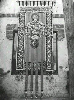 L'estendard de Puig i Cadafalch a Mataró el 1893